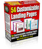 Thumbnail Customizable Landing Page Templates
