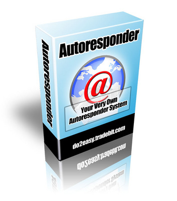 Product picture PHP Autoresponder Script  - eMailing List Management System