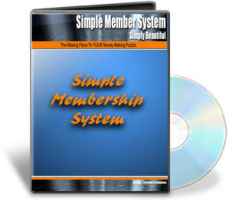 Product picture PHP Membership Site Script With Master Resell Right