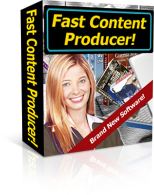 Product picture Fast Content Generator With Master Resell Right