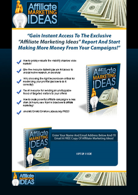 Product picture Affiliate Marketing Ideas - Hot PLR #1