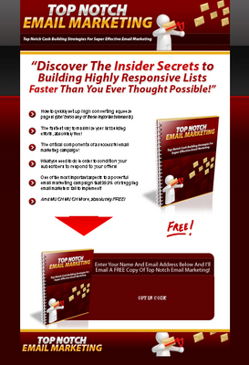 Product picture Top Notch Email Marketing - Hot PLR #2