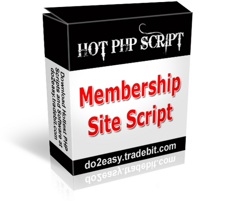 Product picture Membership Site Script