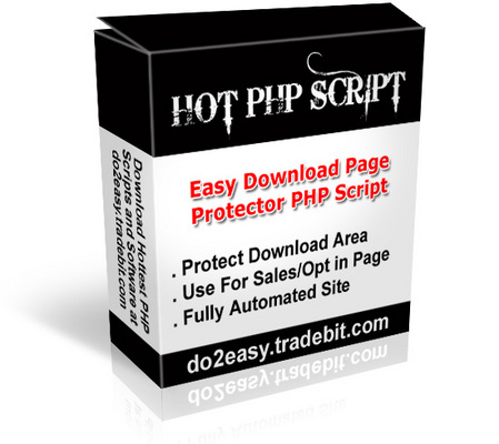Product picture Easy Download Protector Script