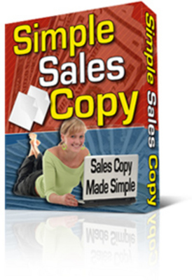 Product picture Simple Sales Copy Creator
